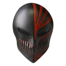 Masque militaire mort d'un masque noir Kawasaki de tactique