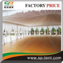 China outdoor decorated aluminum PVC 10x10m pagoda marquee tent Guangzhou wholesale