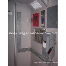Chambre préfabriquée de récipient de structure en acier de haute qualité pour la vie