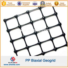 Geomalla biaxial plástica de los PP para la construcción de carreteras y la protección de la cuesta