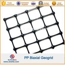 Geogrelha Biaxial em Plástico PP para Construção de Estradas e Proteção de Encostas