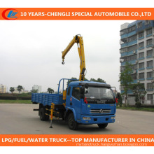 China Suppiler 4X2 Truck with Crane for Sale