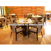 Hotel wooden restaurant chair and table XY0788