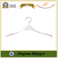 Bright white Plastic Hanger Competitive Price Clothing Hanger