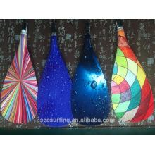 Новая модель OEM Тип покрашенный цветом Балде стеклопластик весло на продажу