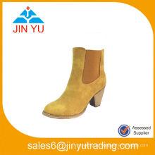 Side Elastic Core baratos y cómodos botas de tacón alto