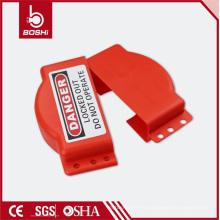 Bloqueo de válvula de compuerta de polipropileno ajustable y ajustable de seguridad Bd-F16