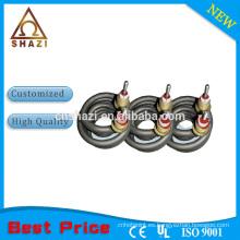 Clásico y caliente de la venta 2014 bobina modificada para requisitos particulares elemento calentador tubular