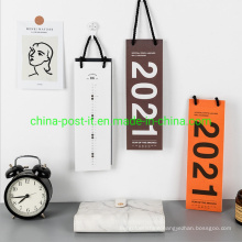 Home Decorating Memo Style Wall Paper Calendar