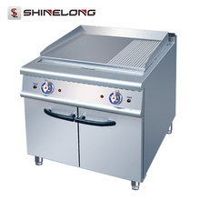 2017 Most Popular Fast Food Machinery Countertop 2/3 Flat Gas Griddle For Sale