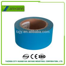 Diseñador de moda excelente materia azul cinta reflectante