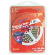 Hochwertige 3528/5050 rgb LED Streifen Licht mit Blister-Paket