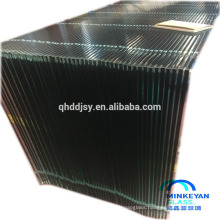 clear or color top quality 12mm thick toughened glass for door