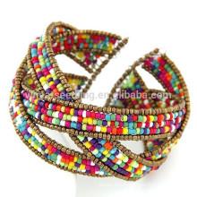 2015 nouveaux produits boho fashion bracelet en perles brésilien, bracelet de plage