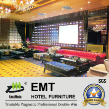 High Class Leisure Furniture KTV Sofa Set (EMT-KTV02)