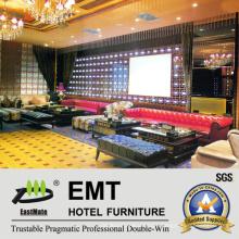 Conjunto de sofá de KTV de lazer de alta classe (EMT-KTV02)
