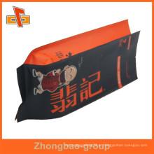 Selo térmico saco de polietileno de papel kraft com folha interior para embalagem de lanche