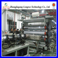 Línea plástica de la protuberancia de la hoja de Pet / PVC / PE, máquina gruesa del extrusor de la hoja de 0.2-2.0mm