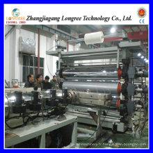 Ligne d'extrusion de feuille en plastique d'animal familier / PVC / PE, machine épaisse d'extrudeuse de feuille de 0.2-2.0mm
