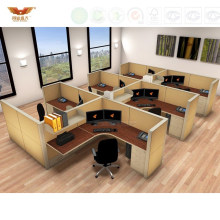 Modern Office Furniture Melamine Board Cubicles Partitions (HY-C1)