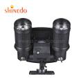 Waterproof Solar Spot Lamp, 14LED Super Bright Adjustable Dual Head Rotatable Solar Powered Security Wall Light