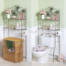 Porte-serviettes de salle de bains de Vivasature Spacesaver, support de salle de bains avec l'électrodéposition de chrome