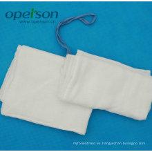 Esponja desechable de laparotomía con Ce y aprobada por ISO