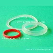 O-Ring de Goma Líquida de Grado Médico, LSR O-Ring