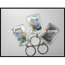 New Gifts Lenticular Printed 3D Plastic Keychain