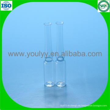 1ml Pharmazeutische Glasampulle