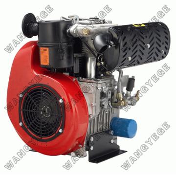 4-тактный дизельный двигатель с 8.0HP двойного цилиндра и электростартером
