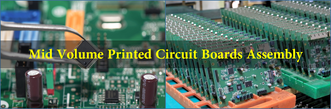 Mid Volume Printed Circuit Boards Assembly