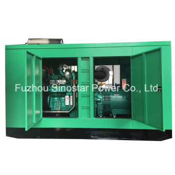 300 Kw 375 kVA CUMMINS fase silenciosa diesel de Genset 50Hz 3