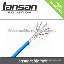 LANSAN Alta velocidade de alta qualidade CE UL ISO ANATEL cat6 lan cabos fabricação