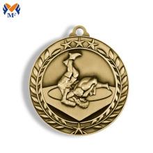Metal material judo sport race medals