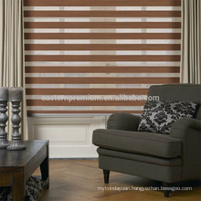 2018 Customized 100% polyester Fabric Rainbow colored Blinds