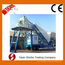 YHZS25 Mobile Concrete Mixing Plant, lote de concreto móvel / planta de dosagem para a venda
