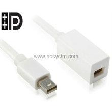 mini DisplayPort to mini DisplayPort extension cable support Thunderbolt