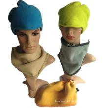 Multi Use Neckwarmer Scarf Warm Earflap Beanie Hat, Fleece Hat, Winter Cap