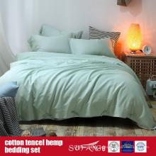 Venta directa de la fábrica de ropa de cama de algodón Lyocell algodón cáñamo