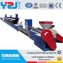 Plastikverpackungsband-Extruderlinie Plastikverpackungsbügel, der Maschine herstellt