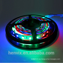 Alto lumen impermeable smd5050 color de sueño digital 5v rgb llevó la luz de tira