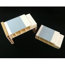 Arquitrave do quadro de porta do quadro de porta Df-I120h40 WPC do PVC