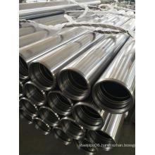 Chrome plated steel tubes