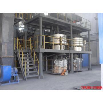 Moulin à jet en métal de silicium