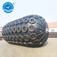 Aileron pneumatique marin de mètre de D2x3.5L pour le bateau de GNL