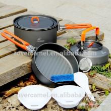Feuer Ahorn fest-2 stellen 2-3 Person Kochgeschirr Outdoorsport Kochgeschirr tragbare Camping Töpfe