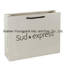 Luxury White Matt Rope Handle Art Gift Paper Bag