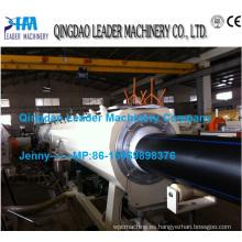 Línea de producción de tubería Pehd de 160 a 450 mm