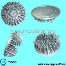 Shenzhen oem coulée radiateur en aluminium arrondi